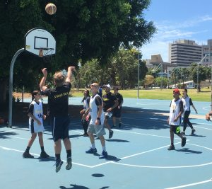 NBL Legend Steve Carfino helping young people to Stand Tall.