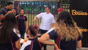 Eat Strong Play Strong project with Chef Sean Connoly at Chifley College
