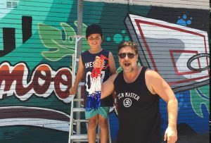 A big thanks to Russell Crowe who took an interest in the condition of the local basketball court and took it upon himself to get some nets up ready for the Stand Tall program on the day. Legend.
