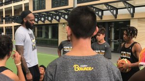 2xNBA Champion and Sydney Kings player Josh Powell joined the team on the day for some inspiration and game advice.