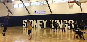 Stand Tall All Stars vs Sydney Kings in a fun game of knockout.