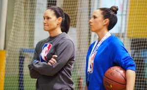 NBA Global Directors Jennifer Azzi and Blair Hardiek are committed to promoting women through basketball across the world.