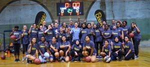 Charity Bounce hosted the NBA Global directors to deliver the first ever all female Stand Tall program in Sydney.