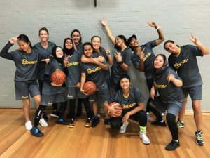 Inaugural Charity Bounce Stand Tall All Stars womens team