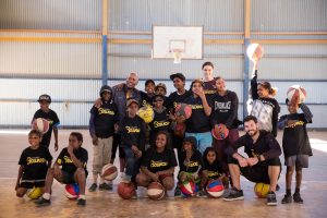 Charity Bounce Stand Tall program near Alice Springs with the Ltyentye Apurte community