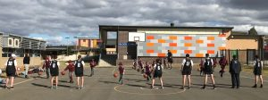 Hoops for Harmony program at Oran Park- Charity Bounce