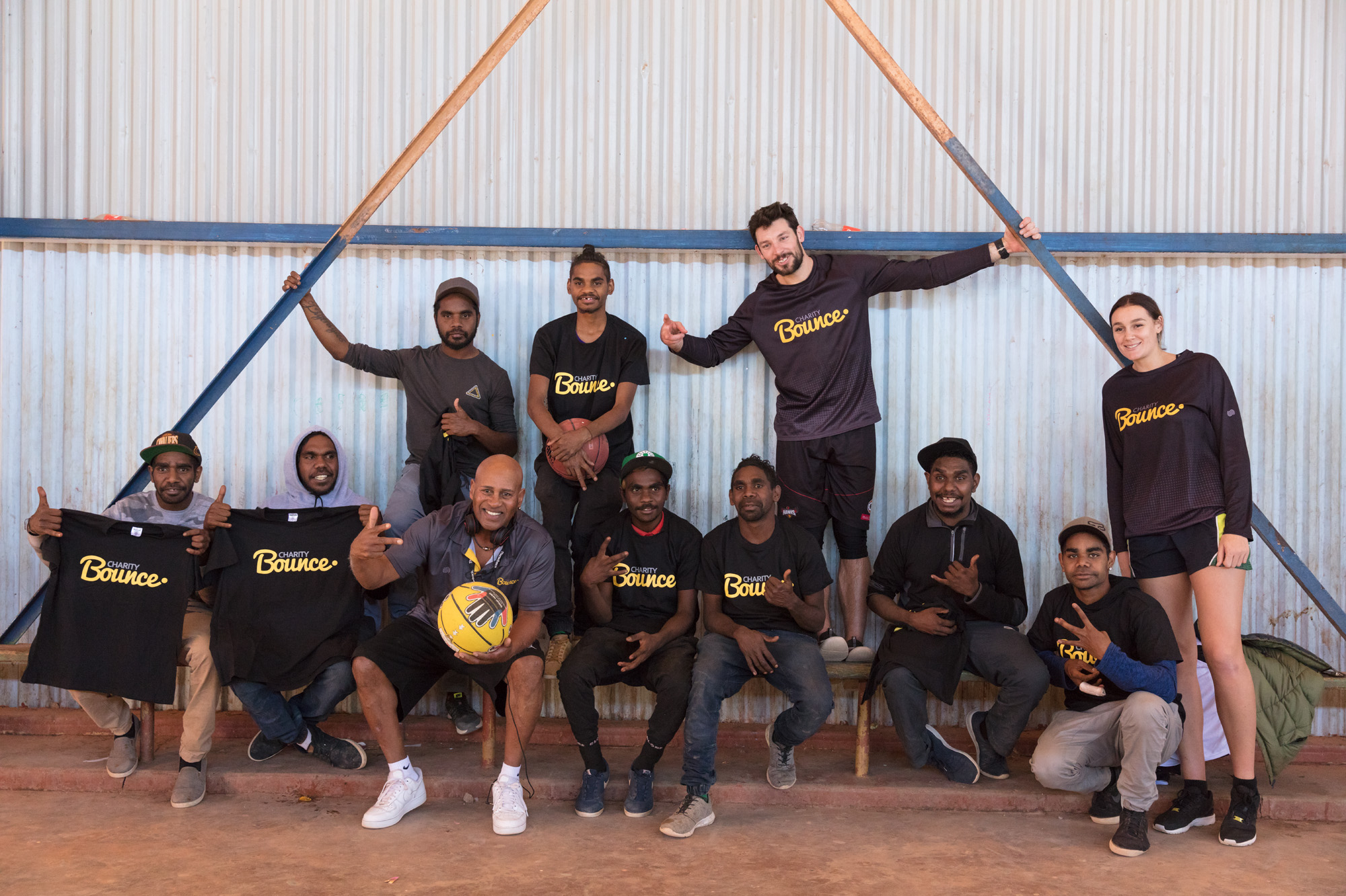 AUSTRALIAN BASKETBALLERS ASSOCIATION AND CHARITY BOUNCE PARTNER TO INSPIRE POSITIVE CHANGE.