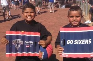 Thanks to the Adelaide 36ers for providing tickets to the game. The students were excited to support the team after the Stand Tall program.