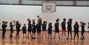 Four time Olympian Laura Hodges delivers a Stand Tall program in Adelaide.
