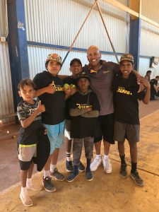 PHOTO: Former NBL star Cal Bruton has been driven to do more to help Indigenous kids succeed — in basketball and in life. (Supplied: Cal Bruton)