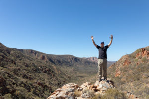 A big thanks to everyone that raised funds on the Larapinta Trek this year.